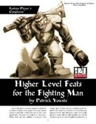 Fantasy Player's Companion: Higher Level Feats