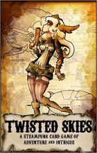 Twisted Skies Steampunk Card Game
