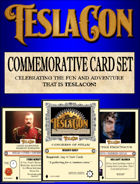 Teslacon Commemorative Card Set (Twisted Skies)