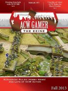 ACW Gamer: The Ezine Issue 1, Fall 2013