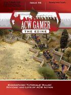 ACW Gamer: The Ezine - Issue 4, Summer 2014