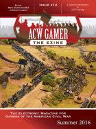 ACW Gamer: The Ezine - Issue 12, Summer 2016 - ACWG12
