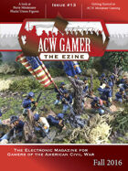 ACW Gamer: The Ezine - Issue 13, Fall 2016 - ACWG13
