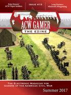 ACW Gamer: The Ezine-Issue 15, Summer 2017- ACWG15