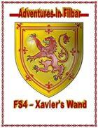 FS4 - Xavier\'s Wand
