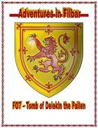 FO7 - Tomb of Delekin the Fallen