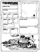 Tombpunk Character Sheet