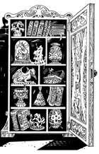 OE Stock Art - Curiosity Cabinet