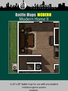 Battle Maps MODERN: Modern Home II