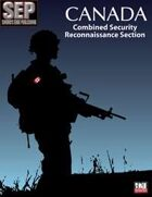 Canada's Combined Security Reconnaissance Section