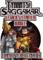Legacies: Saggakar Year 1 [BUNDLE]