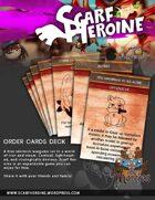 Scarf Heroine - Order card deck