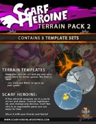Scarf Heroine - Template Terrain pack 2