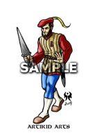 Fantasy Navy Soldier
