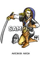 Elfish Swordmistress