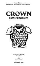 Crown Compendium #3 - Optional Material Addendum