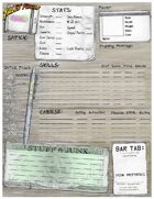 Tales From The Floating Vagabond Character Sheets