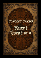 Concept Cards - Rural Locations