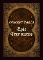 Concept Cards - Epic Treasures & Tomes