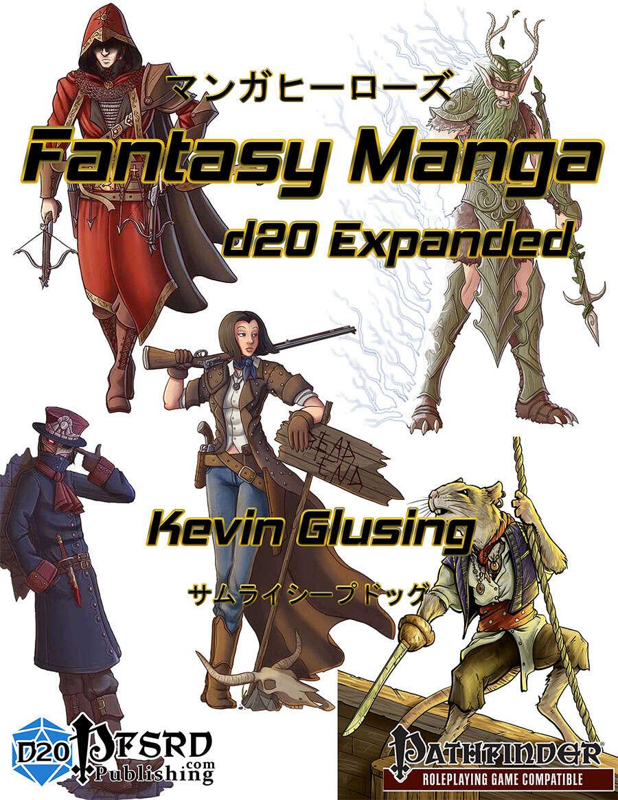 Fantasy Manga: d20 Expanded