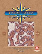 Winding Canyons - Infinite Hex Terrain