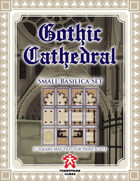 Gothic Cathedral: Small Basilica Set