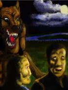 Clip Art Werewolf