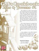 GM'S COOKBOOK: Inns & Taverns #1