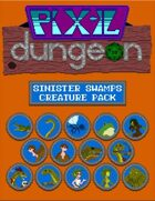 Pixel Dungeon: Sinister Swamps Creature Pack
