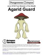 14-06 Free Monster of the Month: Agarid Guard