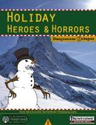 Holiday Heroes & Horrors