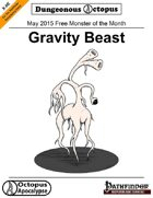 15-05 Free Monster of the Month: Gravity Beast