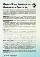 Corporia: CSI Guide