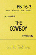 MASHED: The Cowboy (Deluxe Playbook)