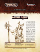 Thunderscape: Aden Gazette 1 - Ferran Flyers