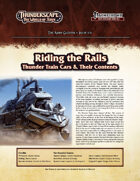 Thunderscape: Aden Gazette 6 - Riding the Rails