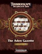 Thunderscape: Aden Gazette Compendium, Volume 1