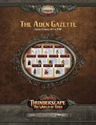 Savage Thunderscape: Aden Gazette Compendium, Volume 1