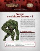 Savage Thunderscape: Aden Gazette 15 - Secrets of the Misari Expanse