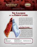 Savage Thunderscape: Aden Gazette 16 - Calendar of the Known Lands