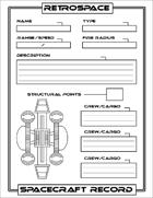 BoP: Retrospace Spacecraft Record
