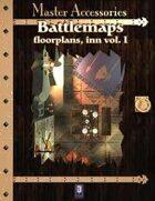 Battlemaps: Floorplans, Inn Vol I