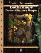 Battlemaps: Divine Alligator's Temple