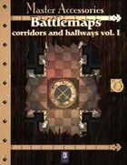 Battlemaps: Corridors and Hallways Vol. I