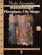 Battlemaps: Floorplans, City Shops