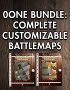 0one Bundle: Complete Customizable Battlemaps [BUNDLE]