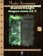 Battlemaps: Dungeon Rooms Vol.V