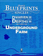 0one's Blueprints: Dwarven Depths - Underground Farm