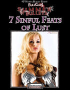 #1 With a Bullet Point: 7 Sinful Feats of Lust