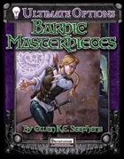 Ultimate Options: Bardic Masterpieces